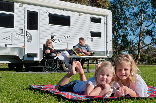 Proudly sponsored by Caravanning with Kids