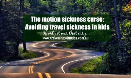Avoiding travel sickness in kids!