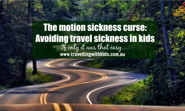 Avoiding travel sickness in kids!