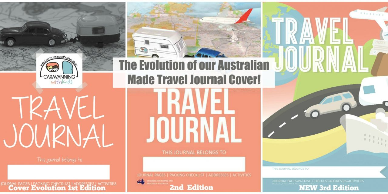 The Evolution of our Travel Journal Covers