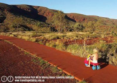 17 - TWK Calendar Entry Karijini National Park by Moving House Travelling Australia