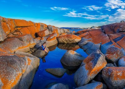 Bay of Fires TAS - The Red Nomad & Co