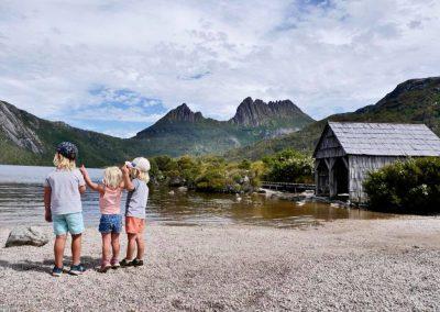 Cradle Mountain TAS - Trip in a Van