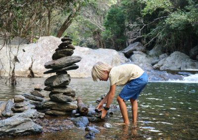 Destination Unknown with Kids - Crystal Cascades Qld