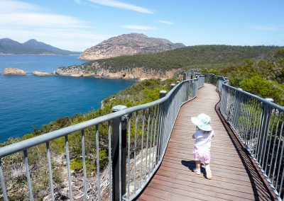 Inspire Family Travel - Cape Tourville Lighthouse Walk, Coles Bay TAS