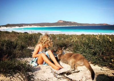 Our Big Lap - Lucky Bay WA