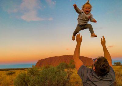 Uluru NT - Hauling Home