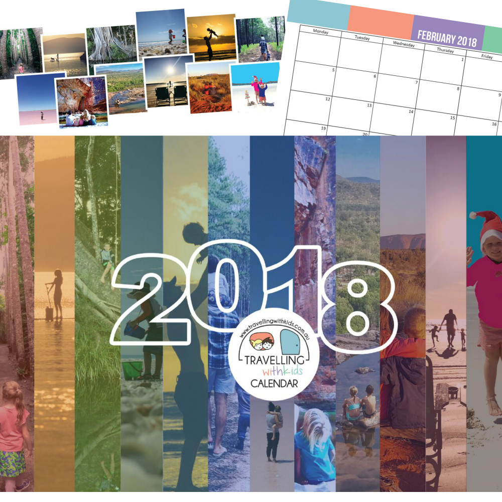 2018 Travelling with Kids Calendar