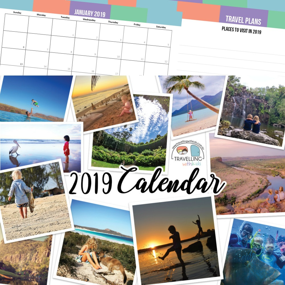 2019 Travel Trailers: 2019 Travelling With Kids Calendar