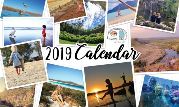 2019 Travelling with Kids Calendar